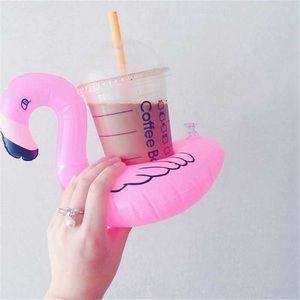 Inflatable Flamingo Drink Holders